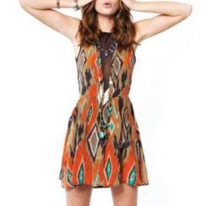 FL&L silk mini dress